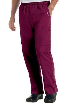 Landau Men's Cargo Pocket with Zipper Fly Scrub Pants