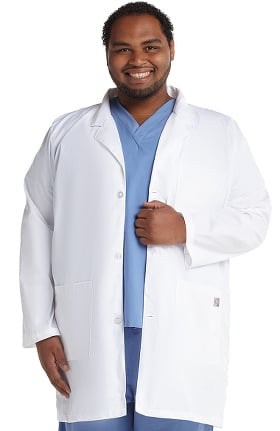 "ScrubZone by Landau Unisex Three Button 31½"" Lab Coat"