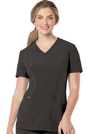 Clearance Urbane Performance Women's Activent V-Neck Tunic Solid Scrub Top