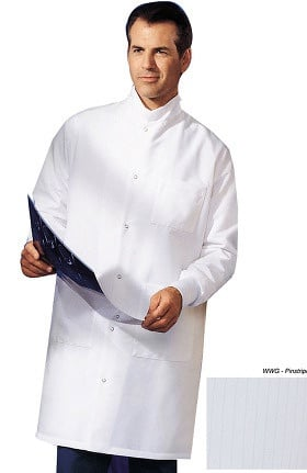 "Clearance Landau Unisex Barrier 41"" Lab Coat"