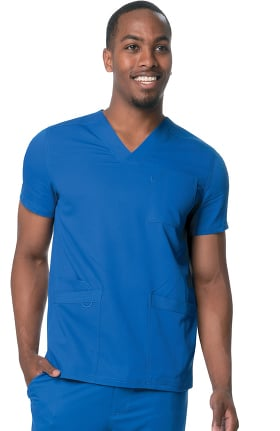 Urbane Ultimate Men's V-Neck Solid Scrub Top
