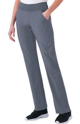 Clearance Urbane Performance by Landau Women's Modern Straight Leg Scrub Pant