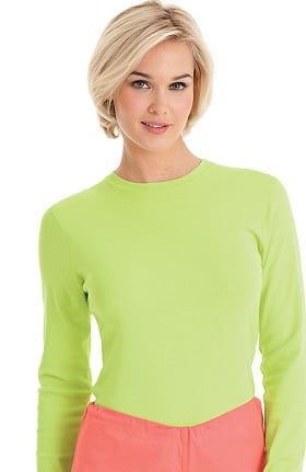 Clearance Urbane Essentials Women's U Logo Long Sleeve Underscrub
