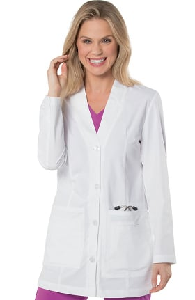 "Landau Women's 32"" Media Labcoat"