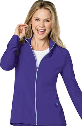 Clearance Urbane Performance Women's QuickCool Zip Front Solid Scrub Jacket
