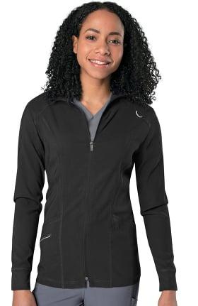 Urbane Align Women's Solid Scrub Jacket