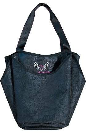 Clearance Smitten Black Out Shopping Bag
