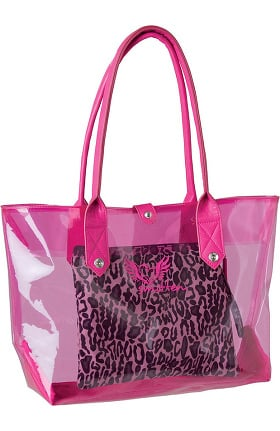 Smitten Women's Get Loud 3 in 1 Clear PVC Tote