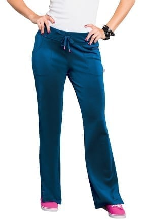 Clearance Bliss by Smitten Women's Drawstring Flare Scrub Pant