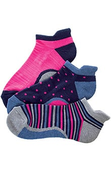 Smitten Women's Tab Top Sock 3 Pack