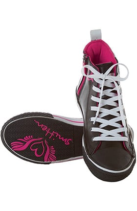 Smitten Footwear Women's Take Flight Zip High Top Athletic Shoe