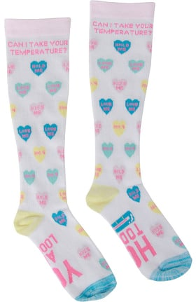 Urbane Essentials Unisex 8-15 MmHg Print Compression Sock