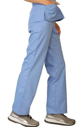 Classic by LifeThreads Women's Drawstring Scrub Pant