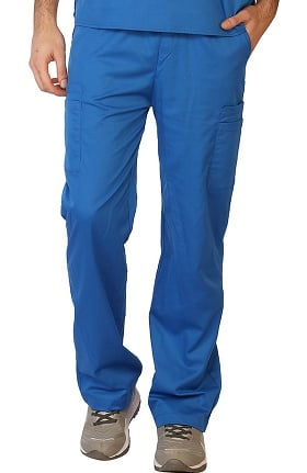 Contego by LifeThreads Men's Drawstring Cargo Stretch Scrub Pant