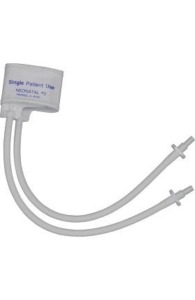Mabis Single Use Two Tube Neonatal #2 Cuff