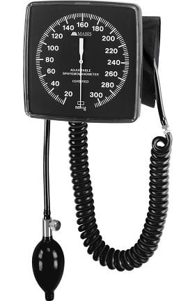 Mabis Legacy Wall-Mounted Clock Aneroid Sphygmomanometer