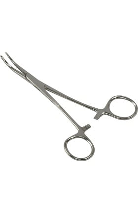 Mabis Kelly Forceps - Curved Box Lock