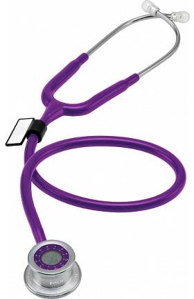 Clearance MDF Pulse Time 2-in-1 Digital Clock LCD Single Head Stethoscope