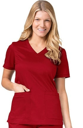 Blossom by Maevn Women's V-Neck Scrub Top
