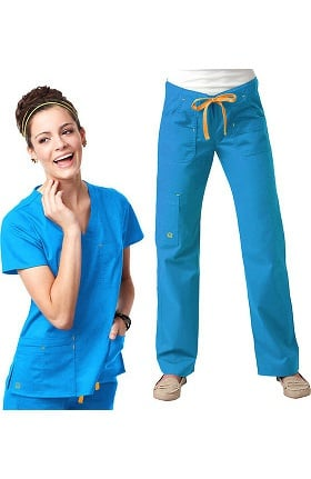 Blossom by Maevn Women's Scrub Set