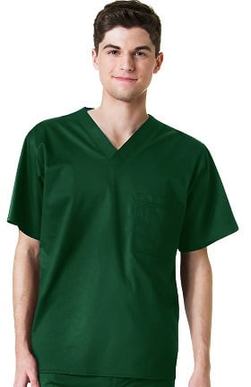 Clearance Maevn Uniforms Men's Stretch Solid Scrub Top