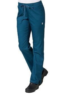 EON Women's COOLMAX Elastic Waistband Cargo Scrub Pant