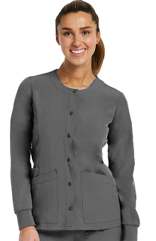 Matrix by Maevn Women's Warm Up Solid Scrub Jacket