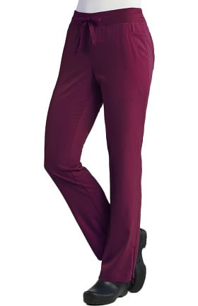 Pure Soft Women's Relaxed Fit Drawstring Cargo Scrub Pant