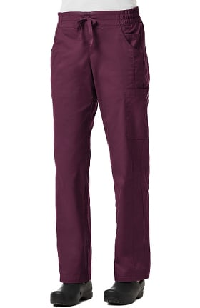 Clearance Blossom by Maevn Women's Signature Elastic Waistband Tapered Leg Scrub Pant