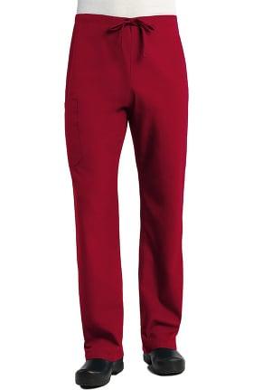 Red Panda Unisex Straigh Leg Drawstring Scrub Pant