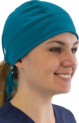 Maevn Uniforms Unisex Terry Cloth Absorbent Scrub Cap