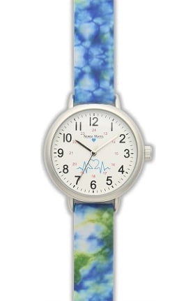 Nurse Mates Women's Tie Dye Watch