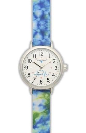 Nurse Mates Women's Tie Dye Watch