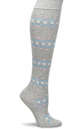 Nurse Mates Women's Cashmere Blend 10-15 mmHg Compression Sock