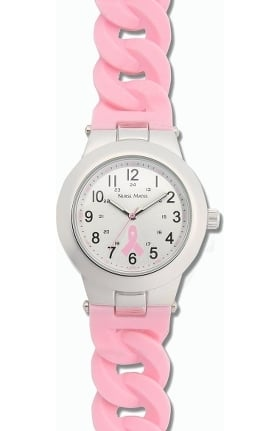 Nurse Mates Women's Water Resistant Silicone Strap Watch