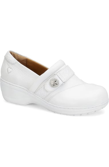 Nurse Mates White Leather Shoes 8.5 Size Men's Clothing