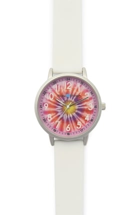Nurse Mates Women's Tie Dye Strap Watch