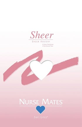 Nurse Mates Women's Soft Lites Sheer Pantyhose
