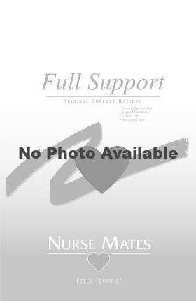Nurse Mates Women's 6 mmHg Black Compression Feels Terrific Hosiery