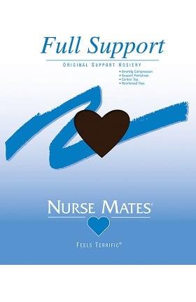 Nurse Mates Women's 5 mmHg Graduated Compression Full Support Hosiery