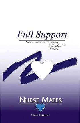 Nurse Mates Women's Firm 11-13 mmHg Compression Hosiery