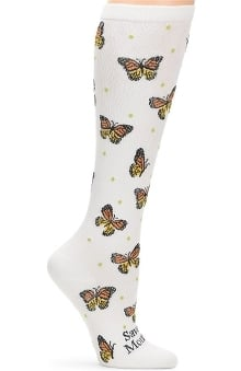 Nurse Mates Women's Endangered Species Print 12-14 Mmhg Compression Sock