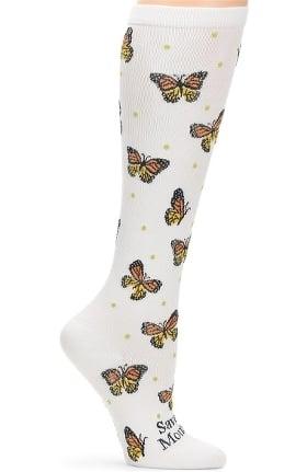 Nurse Mates Women's Endangered Species Print 12-14 Mmhg Compression Sock