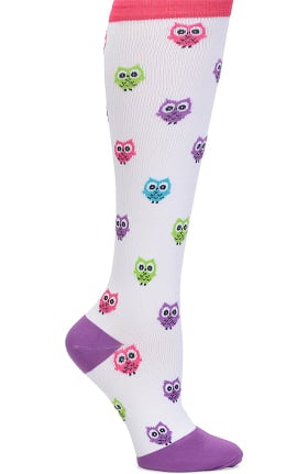 Clearance Nurse Mates Women's 12-14 mmHg Wide Calf Compression Trouser Sock