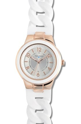 Nurse Mates Women's Silicone Link Watch