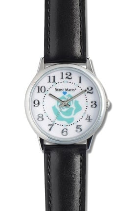 Nurse Mates Women's Rose Dial Watch