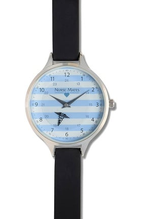 Nurse Mates Women's Rotating Caduceus Watch