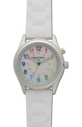 Nurse Mates Women's Push Button Light Up Watch