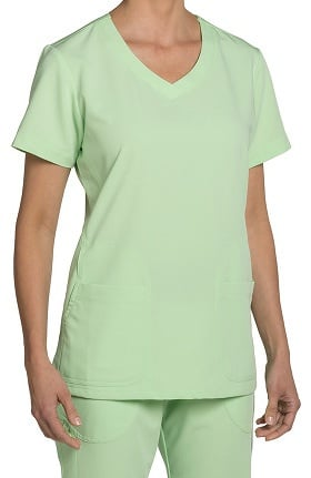 Clearance Nurse Mates Women's Maci V-Neck Solid Scrub Top