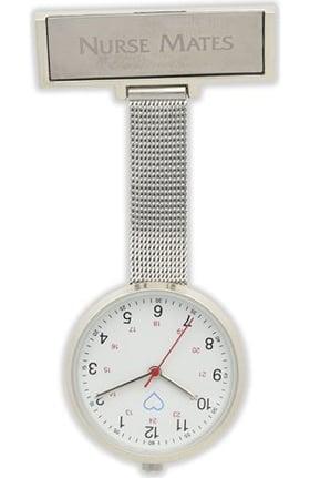 Nurse Mates Women's Engravable Plate Pendant Watch